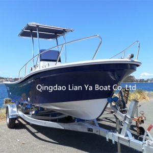 Liya 19FT Fiberglass Boats Cheap Panga Boat for Fishing (SW580) pictures & photos