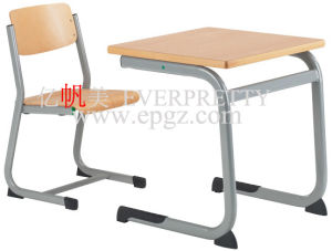 Commercial Furniture Single School Student Desk and Chair pictures & photos