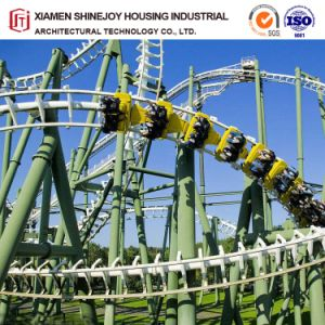 China Design Prefabricated Structure For Outdoor Playground Big Steel Roller Coaster China Playground Equipment And Amusement Park Price