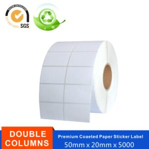 Coated Paper Art Paper Printed Wanning Labels