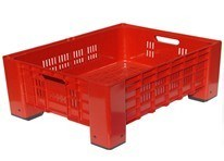 Plastic Stacking Vegetable Crate Mould