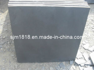 Polished Cultural Black Slate Slabs (CSST-013)