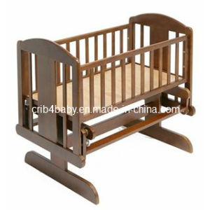 Solid Timber Baby Swing Cribs