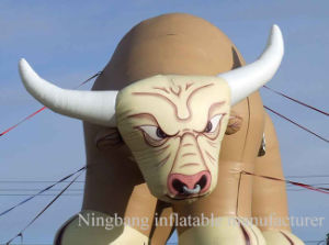 Giant Inflatable Cow Inflatable Bull with Logo Customized