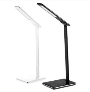 LED Dimmable Qi Wireless Charging LED Desk Lamp with Charger Table Lamp Certificate Ce, FCC, RoHS