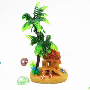 Palmier Plante Resine Artificielle Aquarium Ornement pictures & photos