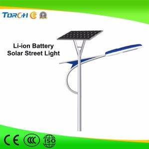 30W--150W Solar Street Light with Solar Panel, Controller and Battery