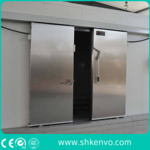 Automatic Cold Storage Refrigeration Room Sliding Door pictures & photos