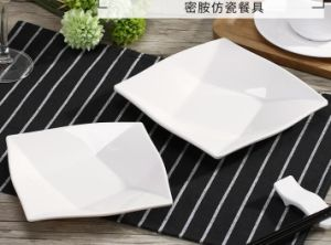 High Quality Melamine Ware Square Plate Dinner Set (oval plate oval tray plate & China High Quality Melamine Ware Square Plate Dinner Set (oval plate ...