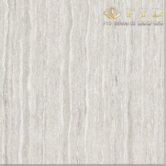 Building Material Line Stone Polished Porcelain Floor Tile (FX6001) pictures & photos