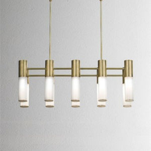 White Gold Metal Lighting Modern Simple Decorative Pendant Lamp pictures & photos