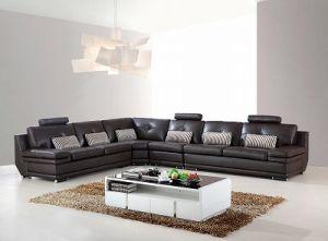 Italian Big Corner Living Room Genuine Brown Leather Sofa H 9160 H 2026