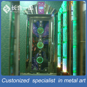 Customized Luxury Metal KTV Interior Steel Door with Coating Colour pictures & photos