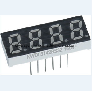 Keyway Four-Digit 7 Segment LED Display with High Quality pictures & photos