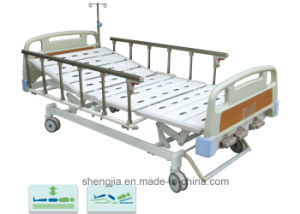 Sjb303mc Luxurious Hospital Bed with Three Revolving Levers