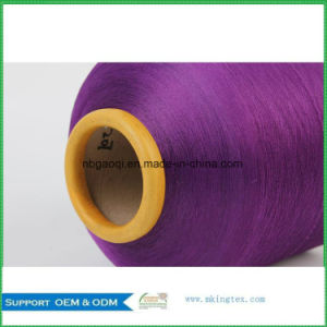 DTY 75D Polyester Dyed Dope Yarn for Scarf pictures & photos