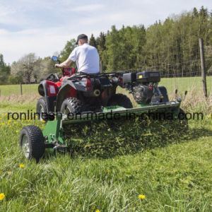 13HP Honda 13HP BS/15HP Engine Powered ATV Flail Mower/Quad Mower/UTV Flail Mower/Flail Mower/Quad Mulcher/Grass Mower with Flap and Cutting Width 120cm pictures & photos