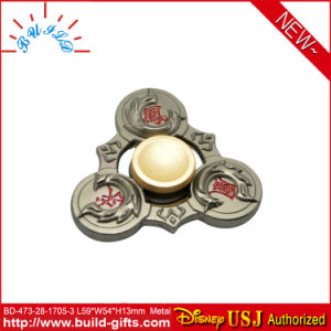 Metal Spinner with Customized Letters
