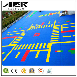 China Suspended Floor Systems Flooring Playground Suspension