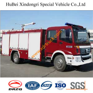5.5 Ton 4*2 Dongfeng Water Tender Fire Truck Euro3