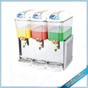 12 Liters 3 Tanks Refrigerated Juice Dispenser Machine pictures & photos
