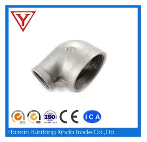 Stainless Steel Reducing Socket Weld 90 Degree Elbow pictures & photos