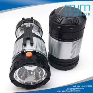 Inflatable Solar Rechargeable Lantern Flashlight