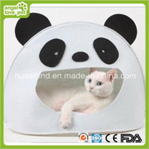 Panda Shape Felt Cat House Pet Cave