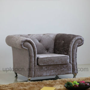 Luxury Living Room Furniture Armchair with Velvet Upholstery for Hotel (SP-HC577) pictures & photos