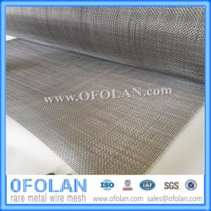 Bright Without Coating Titanium Wire Cloth for Chemical Filter (14 Mesh) pictures & photos