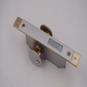 Newest Satety Door Aluminum Office Door Lock pictures & photos