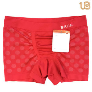 Seamless Men Cotton Boxer Underpants pictures & photos