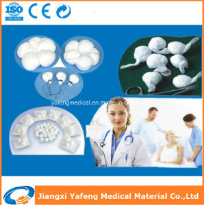 Ce Approved with X-ray Detectable Cotton Gauze Balls pictures & photos