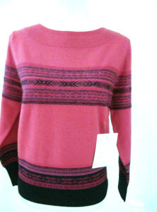 Ladies′ Cashmere Sweater Fashion Women Clothes