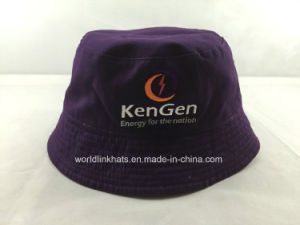 1666b0514 Custom 100% Cotton Reversible Bucket Hat with Embroidery Logo Design