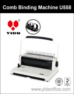 U Handle A4 Size Comb Binding Machine U558 pictures & photos