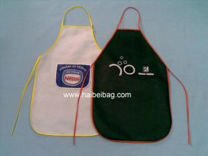 Promotional Polyester Apron with Full Colors Logo pictures & photos