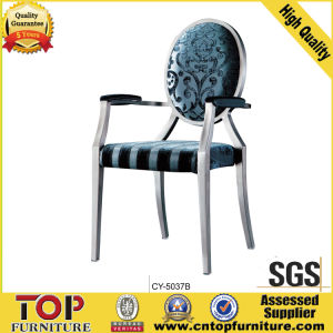 Foshan Factory Metal Restaurant Armest Chair for Restaurant Furniture pictures & photos