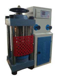 TYA-2000 Digital Display Hydraulic Compression Testing Machine pictures & photos