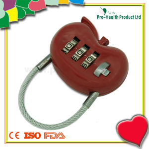 Promotion Kidney Shape Luggage Code Lock pictures & photos