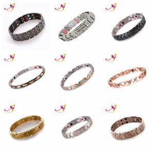 Sgs Certification 99 Germanium Pure Anium Sports Health Energy Wristbands Women Men Bio Magnetic Bracelet