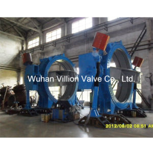 Flow-Through Type Disc Design Single Offset Butterfly Valve