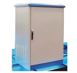 Outdoor Power Supply Cabinet, Distribution Enclosure, Metal Shield