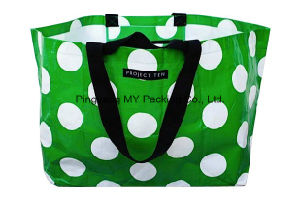Professional Manufacturer Square Bottom Handle PP Shopper Bag for Promotion pictures & photos