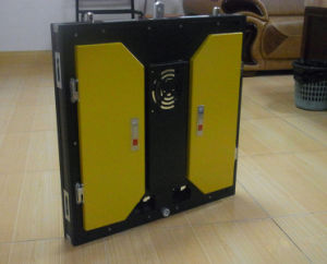 Yellow Case Light Weight Rental LED Screen