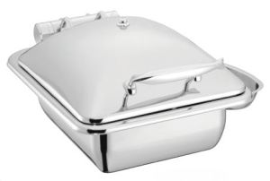1/2 Size Induction Chafing Dish with 4.0LTR Gn Pan (26127T) pictures & photos