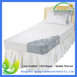 HOTEL QUALITY QUILTED ANTI ALLERGENIC SINGLE MATTRESS PROTECTOR 90 x 190CM