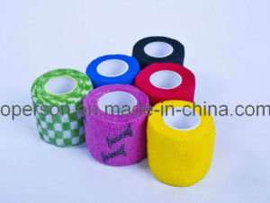 Self Cohesive Bandage with Various Colors pictures & photos