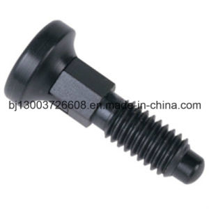 CNC Black Anodized Aluminum Spring Lock with Machining