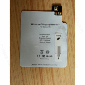 Qi Wireless Charging Receiver Card Phone Charger for Samsung S5